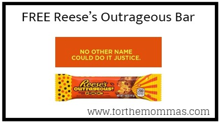 Kroger Friday Freebie: FREE Reese's Outrageous Bar