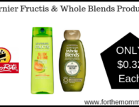 Garnier Fructis & Whole Blends Products