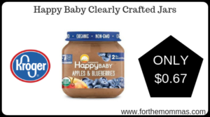 Happy Baby Clearly Crafted Jars