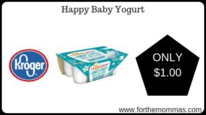 Happy Baby Yogurt