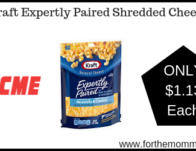 Kraft Expertly Paired Shredded Cheese
