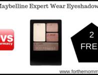 CVS: Free Maybelline Expert Wear Eyeshad</body></html>