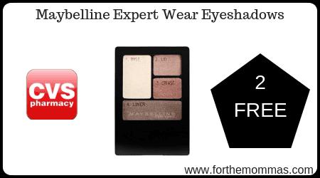 Maybelline Expert Wear Eyeshadows