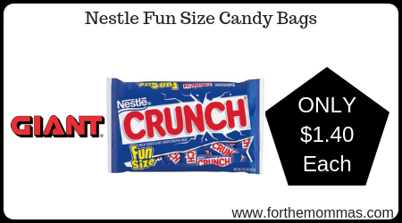 Nestle Fun Size Candy Bags