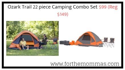Ozark Trail 22 Piece Camping Combo Set 99 Reg 149 Ftm