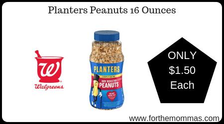 Planters Peanuts 16 Ounces