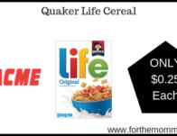 Quaker Life Cereal