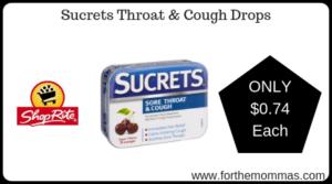 Sucrets Throat & Cough Drops
