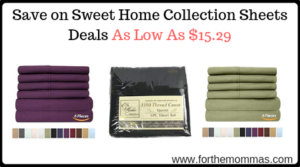 Sweet Home Collection Sheets