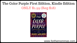 The Color Purple First Edition