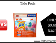 Tide Pods ONLY $0.69 Each Starting 6/30
