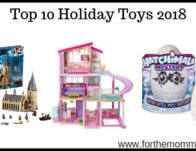 Top 10 Holiday Toys 2018