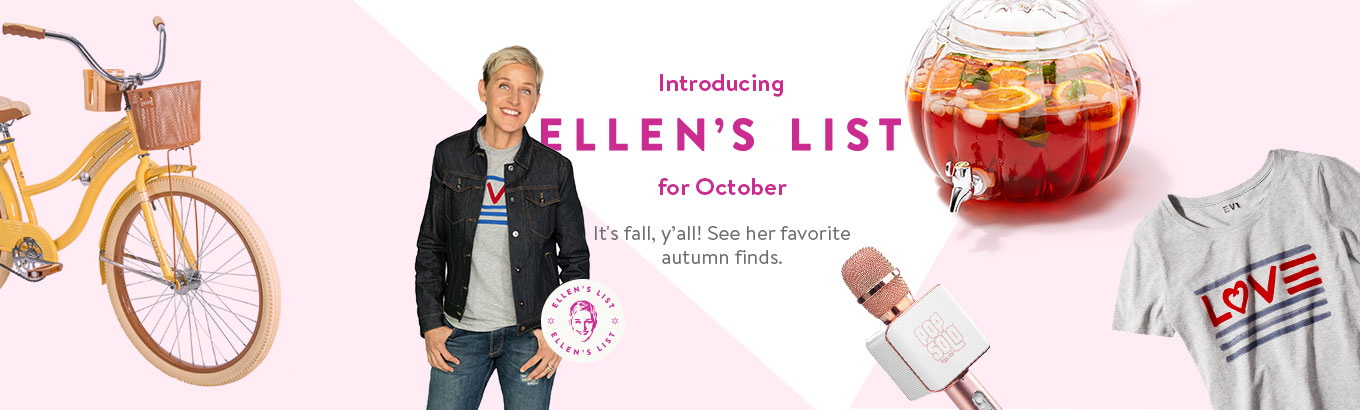 Ellen's 15 Favorite Things for Fall From $6
