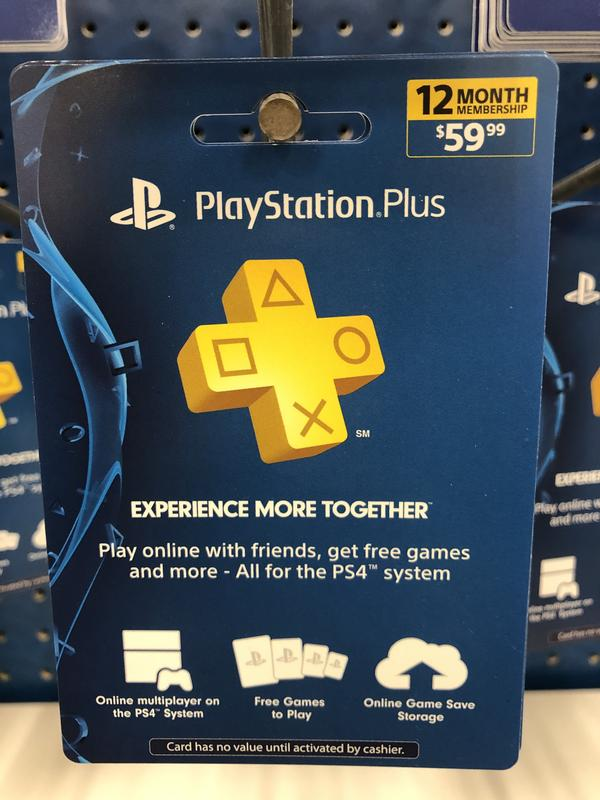PlayStation Plus 12 Month Subscription JUST $39 99 at GameStop