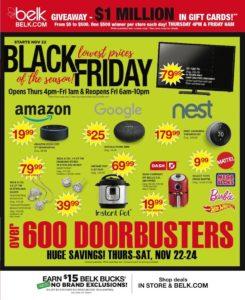 BELK Black Friday Ad Scan