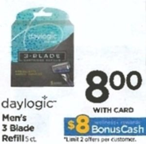Buy Here Pay Here Ct >> Rite Aid: FREE Daylogic Men's 3 Blade Refill 5 Count ...