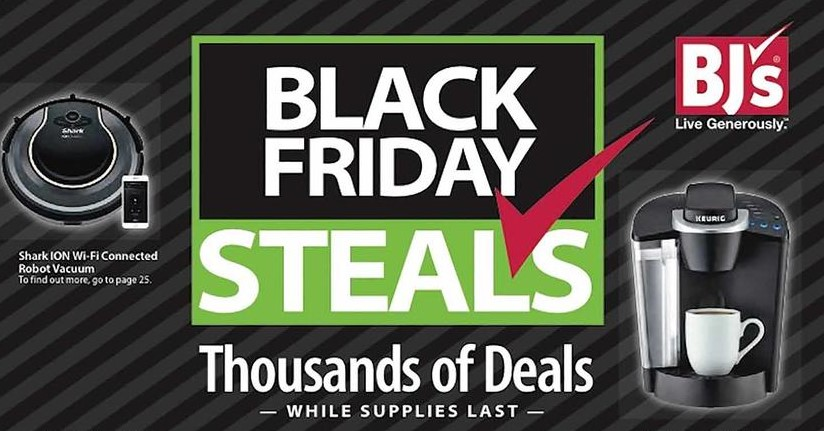 BJS Wholesale Club Black Friday Ad 2018