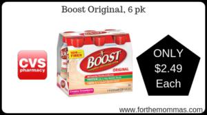 Boost Original, 6 pk