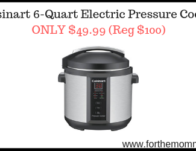 Cuisinart 6-Quart Electric Pressure Cooker