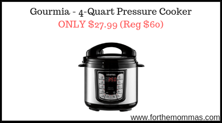 Gourmia - 4-Quart Pressure Cooker