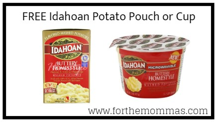Kroger Freebie Friday: FREE Idahoan Potato Pouch or Cup