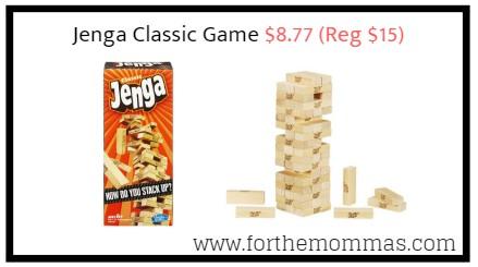 Jenga Classic Game $8.77 (Reg $15)