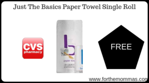 Just The Basics Paper Towel Single Roll