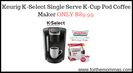 Keurig K Select Single Serve K Cup Pod Coffee Maker Only