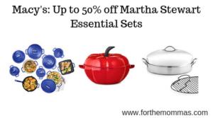 Martha Stewart Essential Sets
