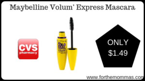 Maybelline Volum' Express Mascara