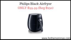 Philips Black Airfryer