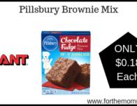 Pillsbury Brownie Mix