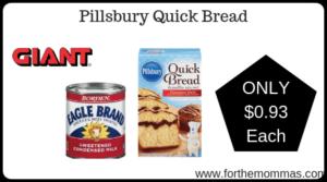 Pillsbury Quick Bread