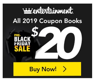 Image result for entertainment book pre-black friday 2019