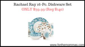 Rachael Ray 16-Pc. Dishware Set