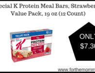 Special K Protein Meal Bars