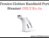 TaoTronics Clothes Handheld Portable Steamer