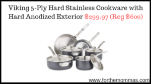 Viking 5-Ply Hard Stainless Cookware
