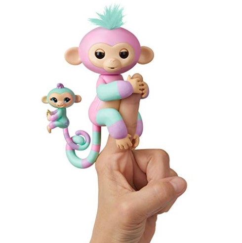 Wowwee Fingerlings Baby Monkey Amp Mini Bffs Ashley And