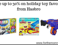 holiday toy favorites from Hasbro