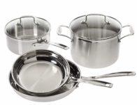Cuisinart Multiclad Pro Stainless Steel 6-Piece Cookware Set ONLY $109.99 (Reg $180)