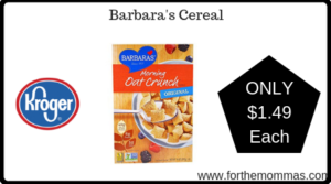 Barbara's Cereal