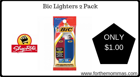 Bic Lighters 2 Pack