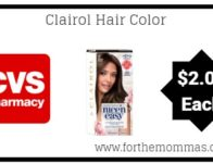 CVS: Clairol Nice 'n Easy Hair Color ONLY $2 Each Starting 4/7