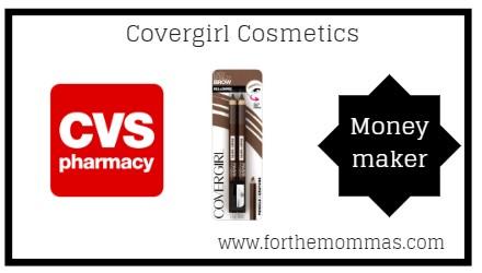 CVS: Free + Moneymaker Covergirl Cosmetics Starting 12/9