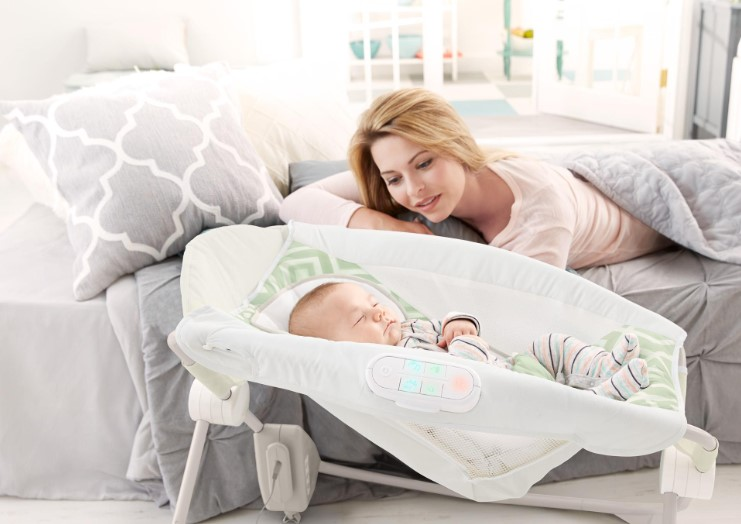 Fisher-Price Deluxe Auto Rock 'n Play Sleeper with SmartConnect $44.92 Shipped