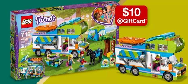 Target: Free $10 Gift Card w/ $50 LEGO Purchase