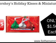 Hershey's Holiday Kisses & Miniatures