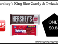 Hershey's King Size & Twizzlers ONLY $0.88 Starting 6/30
