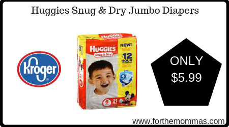 Huggies Snug & Dry Jumbo Diapers